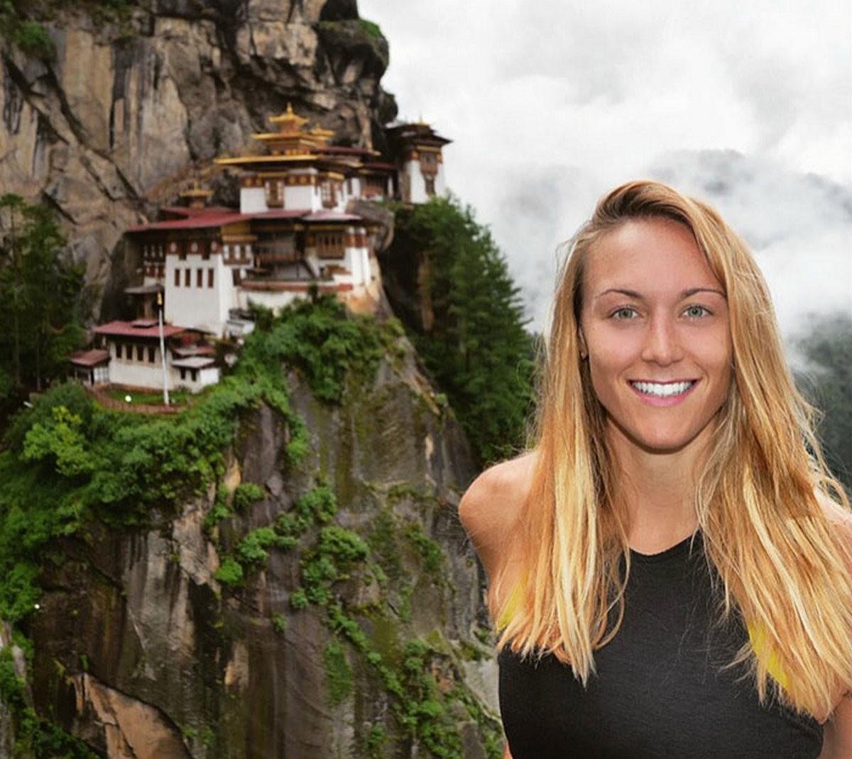 Эта 27-летняя девушка скоро станет первой женщиной, посетившей ВСЕ страны на земле