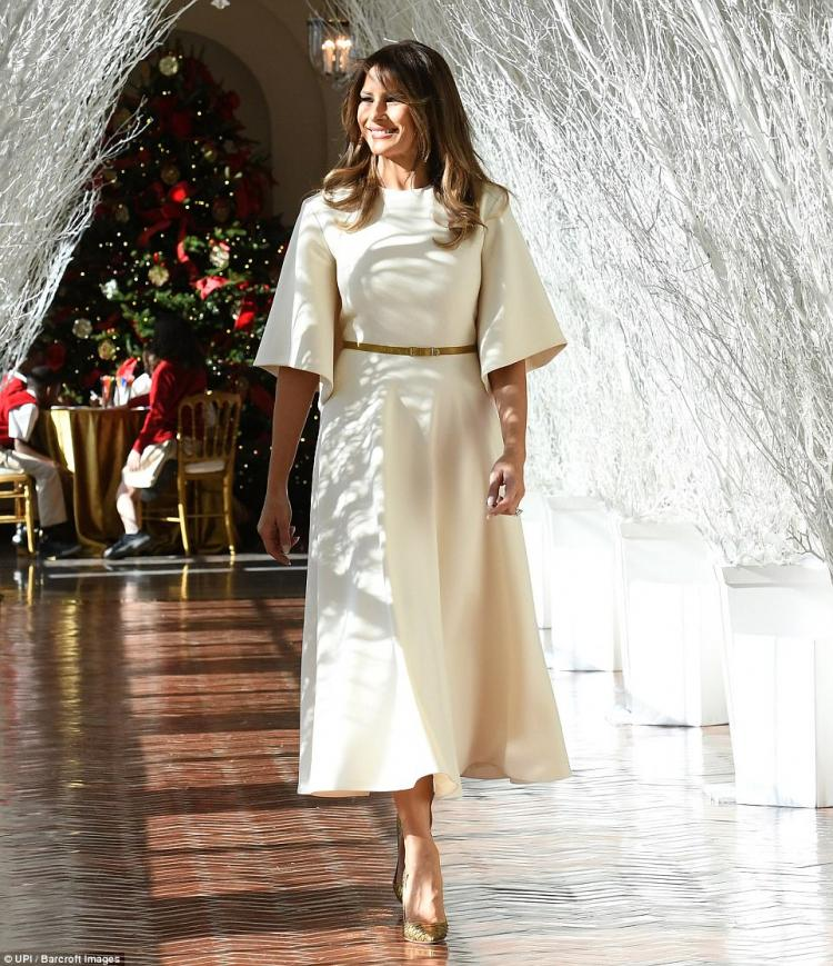 Как Мелания Трамп подготовила Белый дом к Рождеству