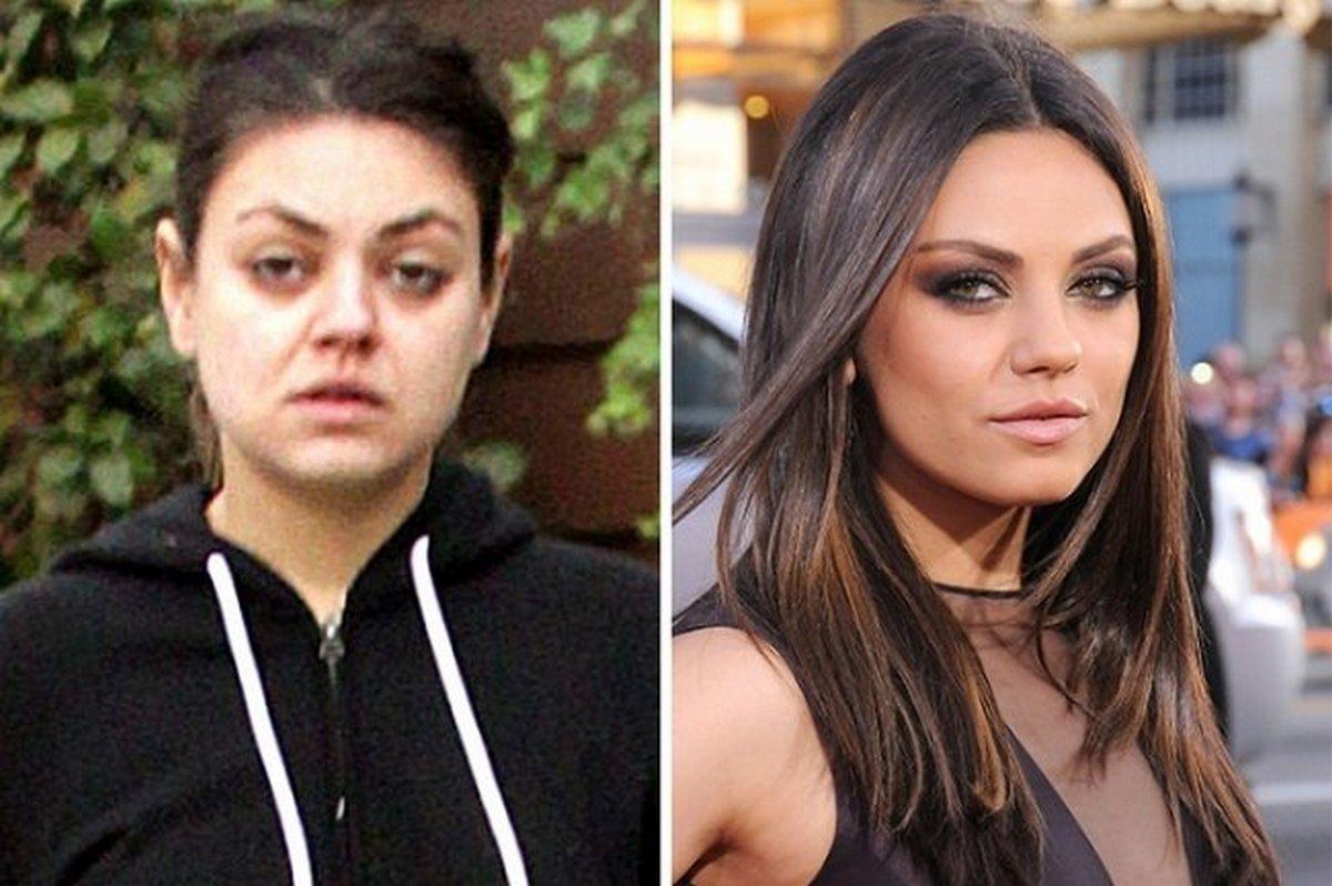 12 звезд без макияжа: настоящее лицо знаменитых красоток