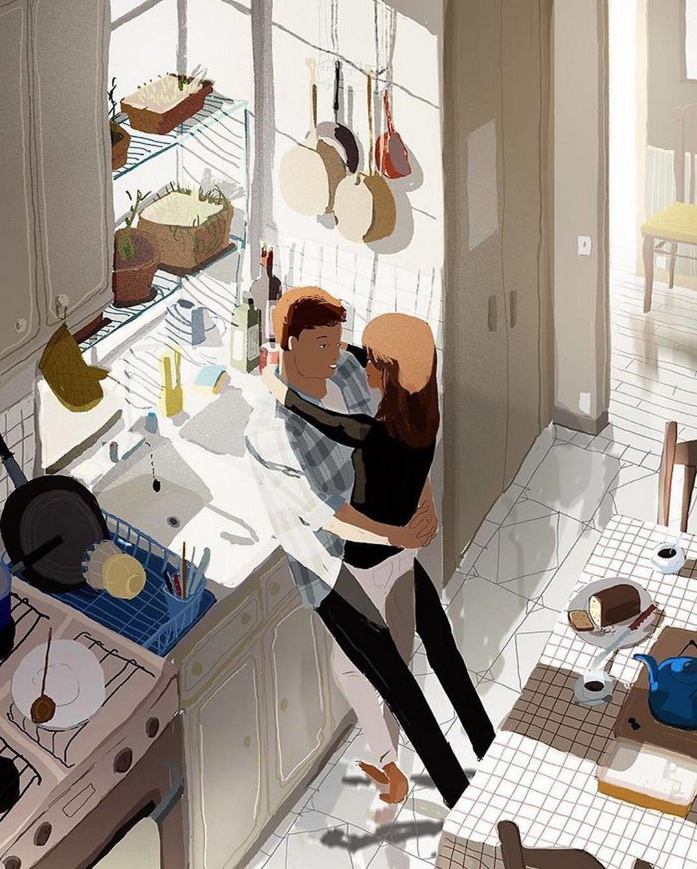 «Любовь всегда проявляется в мелочах»: милые иллюстрации семейной жизни