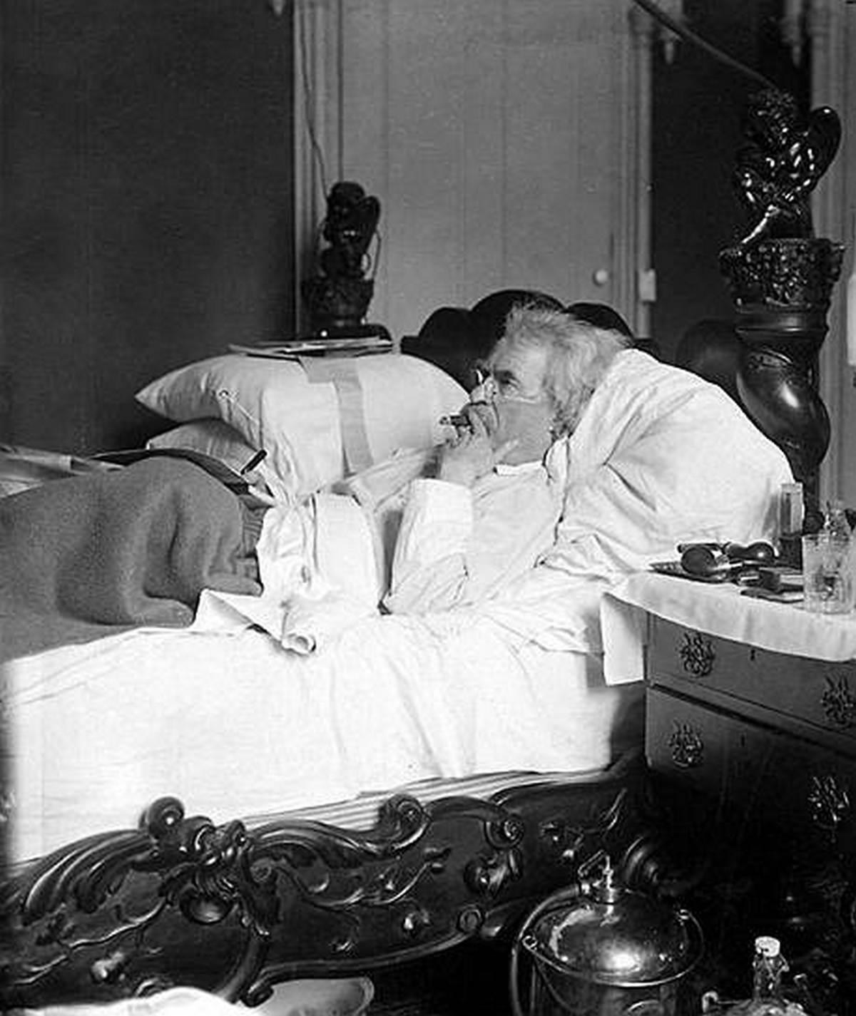Марк Твен: «Хорошие друзья, хорошие книги и спящая совесть — вот рецепт идеальной жизни»