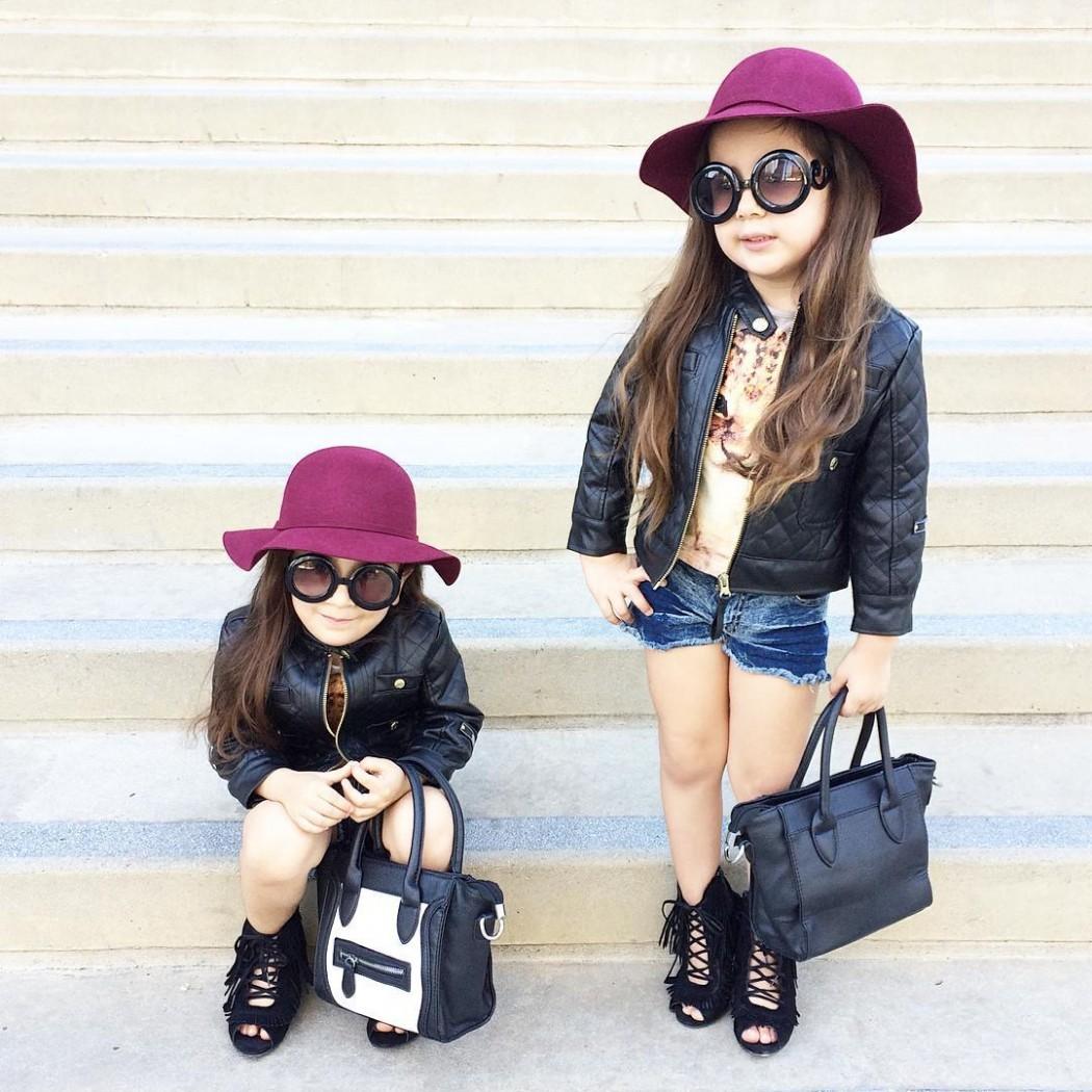 Самые стильные малышки