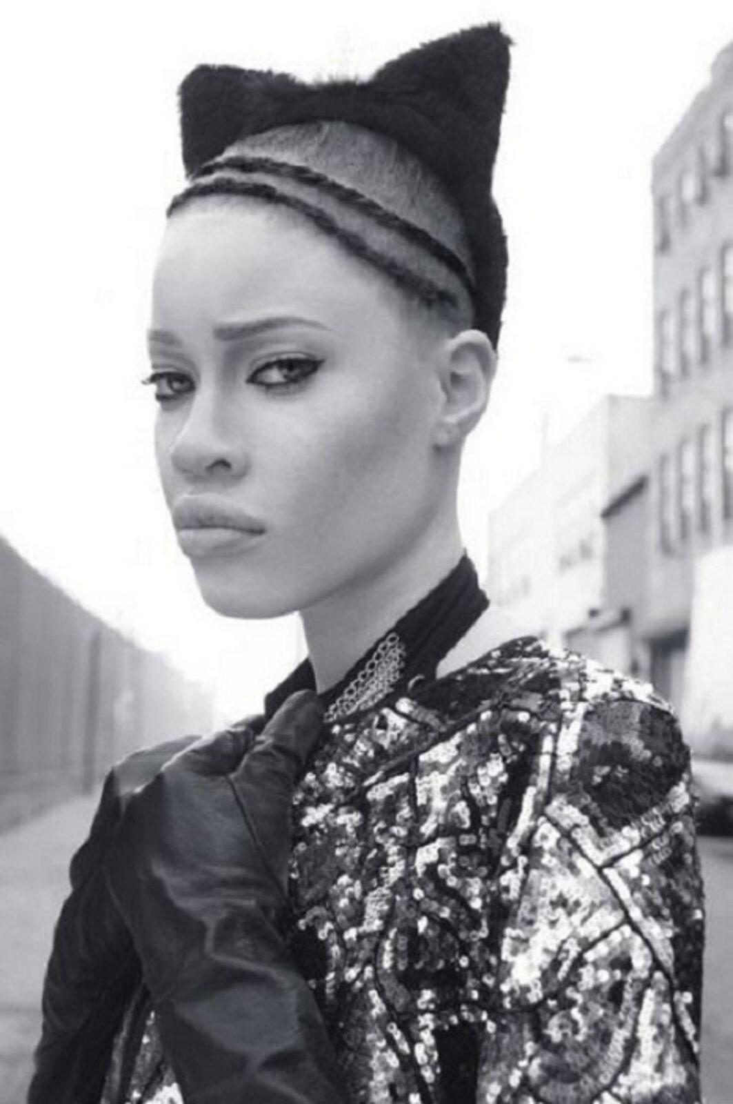 Её вид завораживает! Экстраординарная африканская красотка