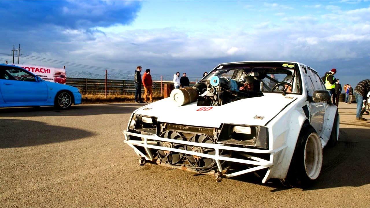 Советские автомобили с шикарным тюнингом