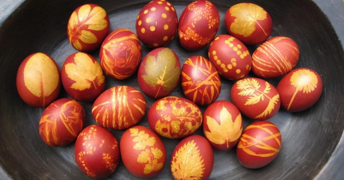красим яйца