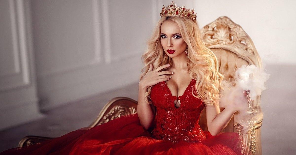 женщина королева