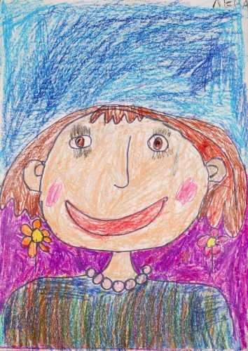 рисунок маме с днем рождения от дочери карандашом нем приняли участие