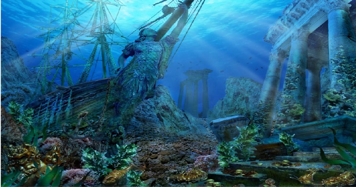 Атлантида может располагаться не под водой