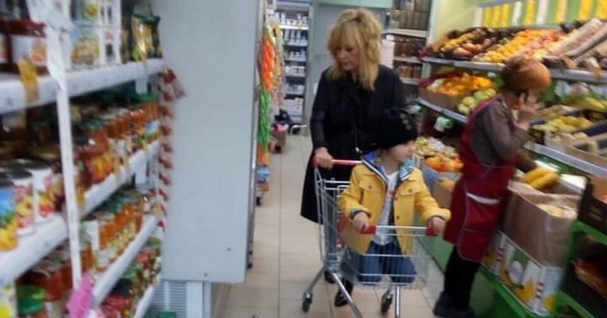 Пугачеву заметили в обычном супермаркете